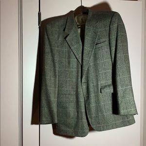 Vintage 100% Wool Evan Picone Two Button Blazer